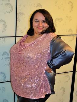 Работа с названием Новогодняя блузка