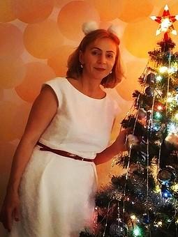 Работа с названием Рождество на ФФ с SvetlanaNaumova. Платье