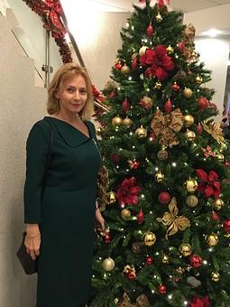 Работа с названием Рождество на ФФ с SvetlanaNaumova. Шерстяное платье