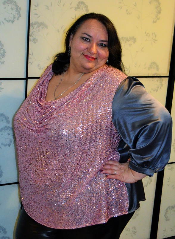 Новогодняя блузка