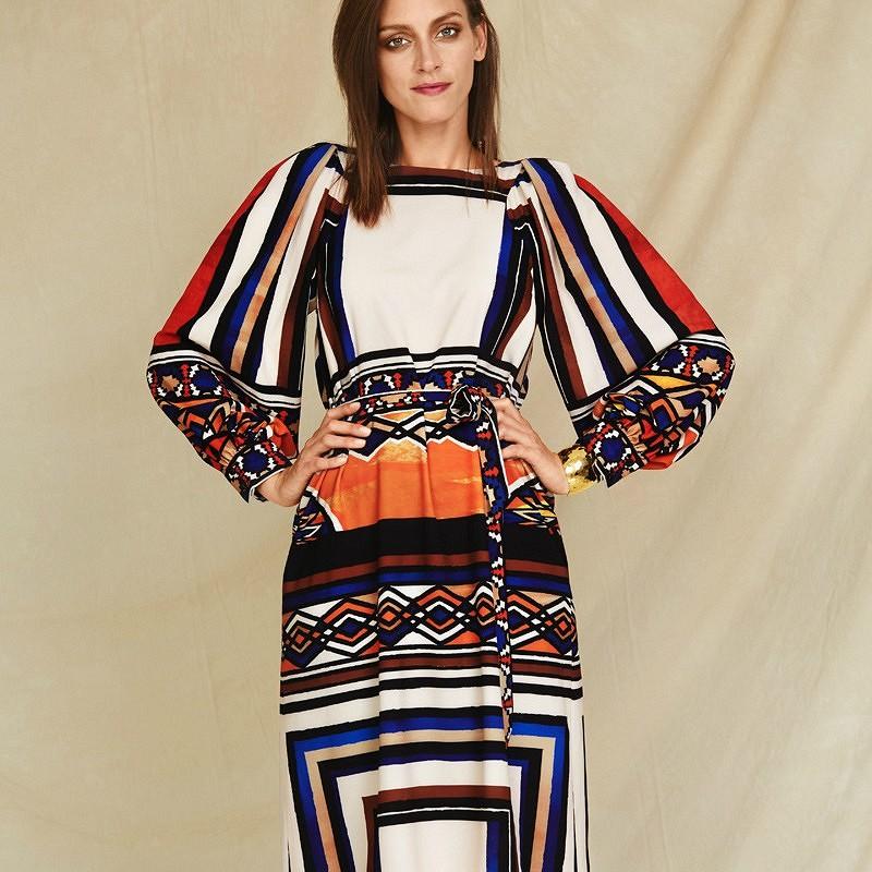 Платья сакцентными рукавами: 20 самых эффектных выкроек