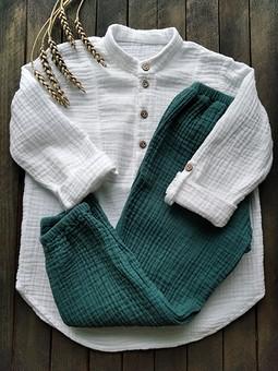 Работа с названием Рубашка из муслина