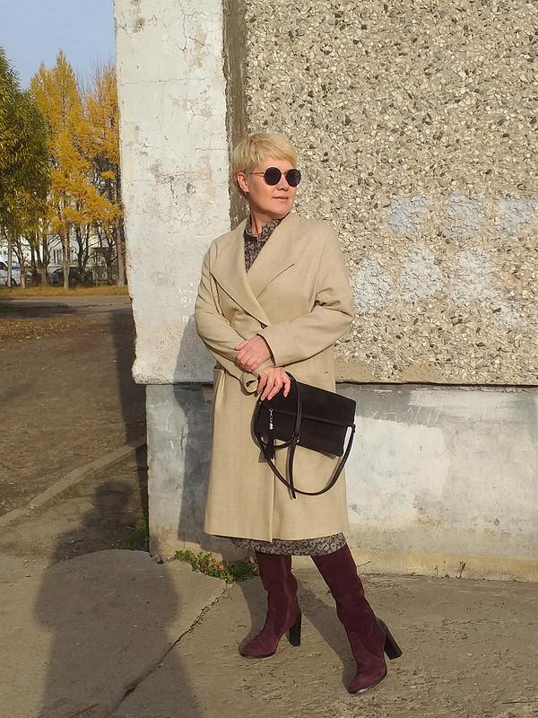 Пальто цвета беж от  Галина Позднякова