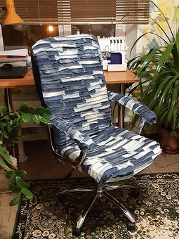 Работа с названием Реставрация кресла