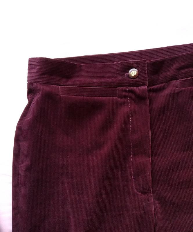 Вельветовые брюки изBurda 9/2020 от Азалия