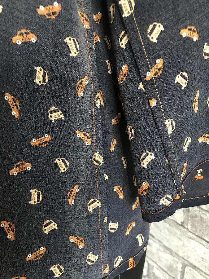 Блузка срасклешенными рукавами: обзор выкройки 111 изBurda Style 8/2020