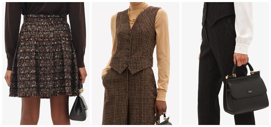 Три образа ванглийском стиле отDolce&Gabbana, которые вы можете повторить