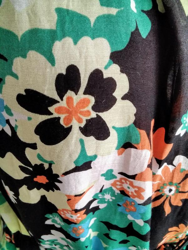 Пляжное платье изткани 70-х годов встиле хиппи от Jouliko