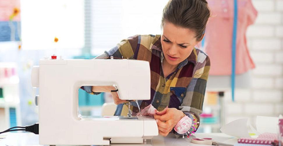 Восстание машин, или Почему швейная машинка зажевывает ткань?