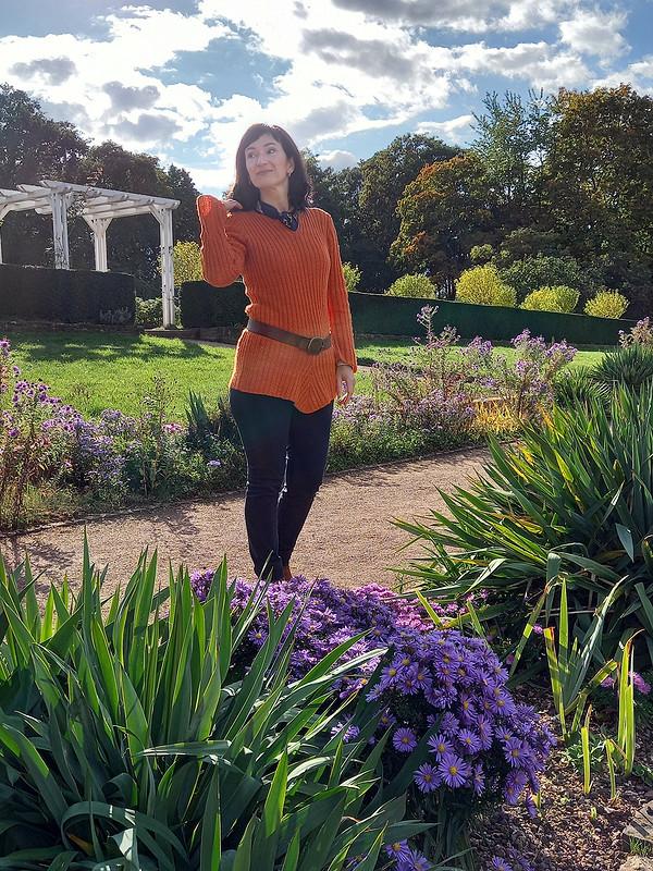 Пуловер «Оранжевое настроение» от Lanawind