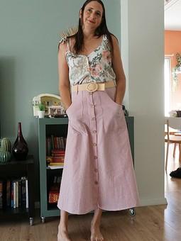 Работа с названием Моя любимая юбка