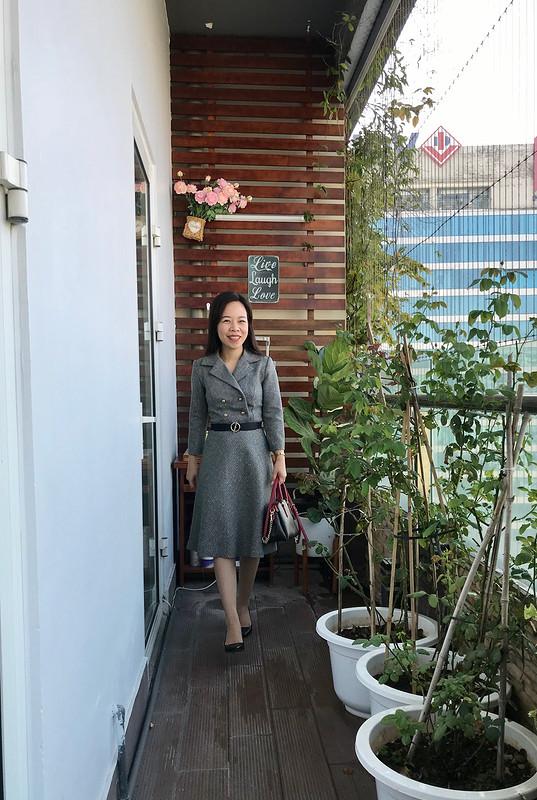 Платье «Office style but elegant»
