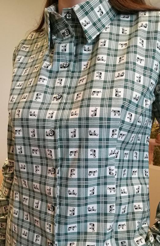 Рубашка «Весёлые коровки»