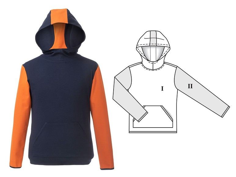 Технические рисунки Burda Style 12/2020