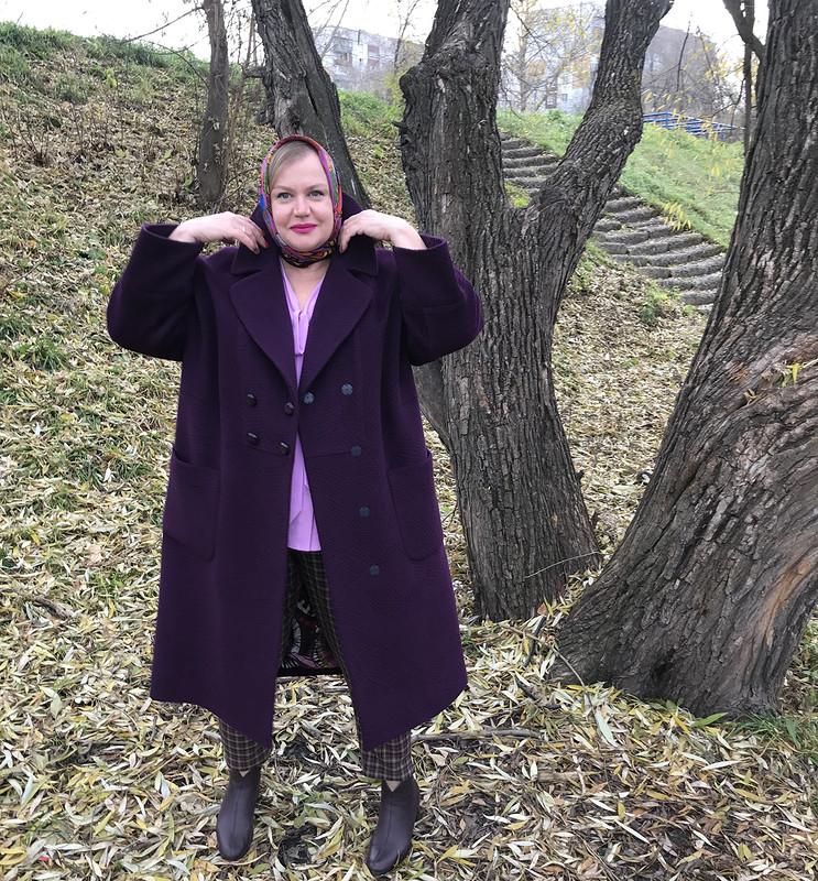 Черничное пальто