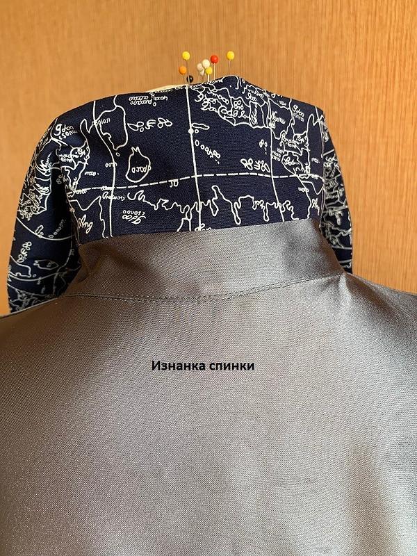 Морской домашний халат