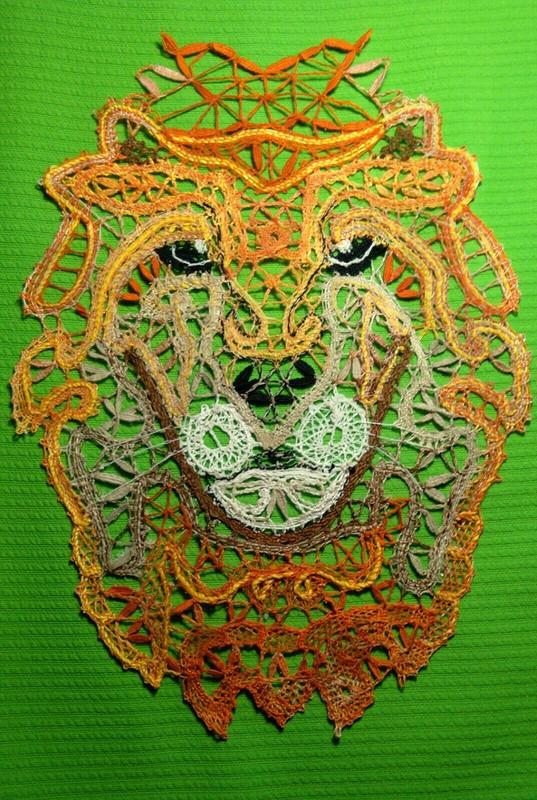 Сувенир «Кружевной лев»