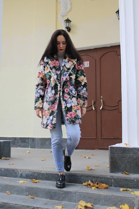 Меховое пальто от AnutaZ