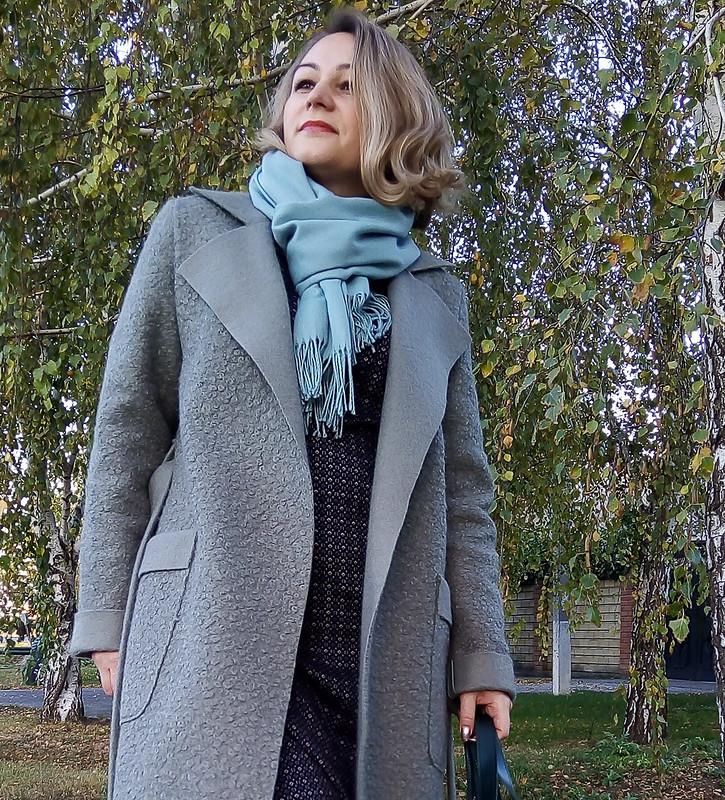 Пальто повыкройке жакета