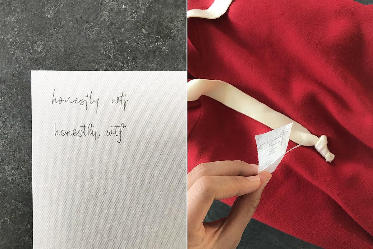 Идея: вышивка нашнуре худи или толстовки