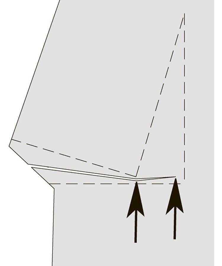 Как выполнять «двойные» талиевые вытачки