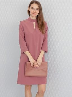 Работа с названием Фиолетовое платье на каждый день