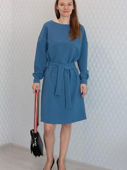 Работа с названием Простое платье