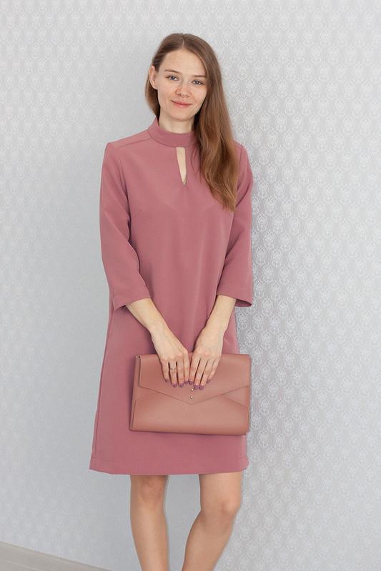 Фиолетовое платье накаждый день