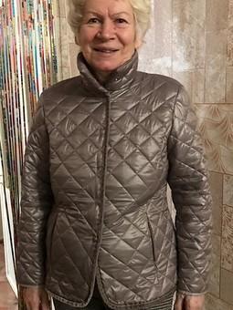 Работа с названием Стеганая куртка для мамы