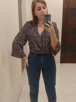 Работа с названием Вестерн блузка