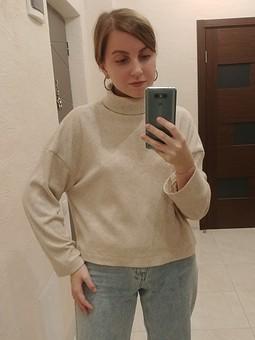 Работа с названием Больше свитеров богу свитеров))