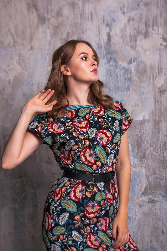Платье «Хохлома»