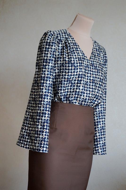Блуза изнатурального шёлка
