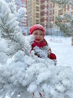 Работа с названием Начало зимы. Первое пальто