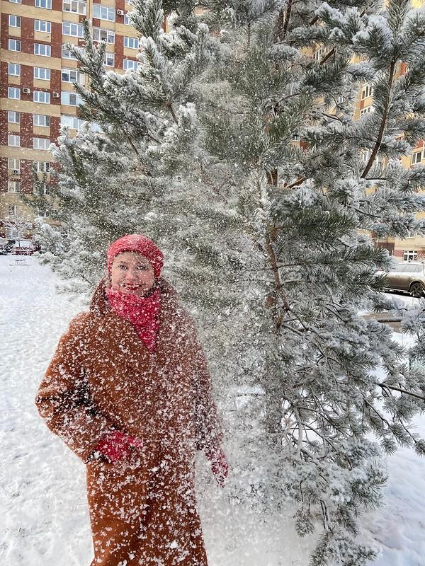 Начало зимы. Первое пальто