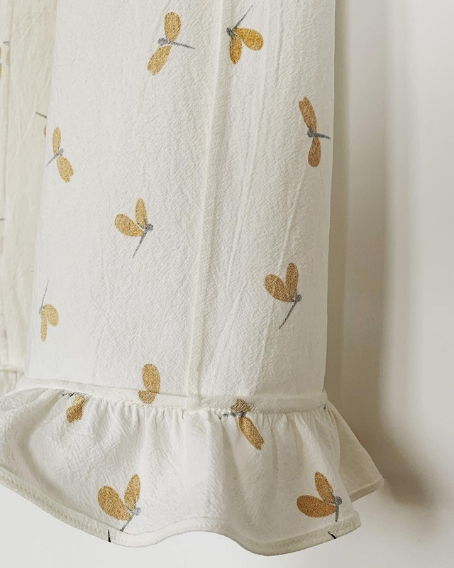 Пижамные брюки со стрекозами