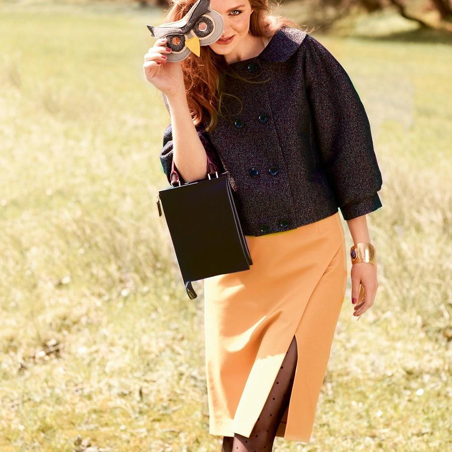 Прямые юбки сзапахом: 25 лучших выкроек
