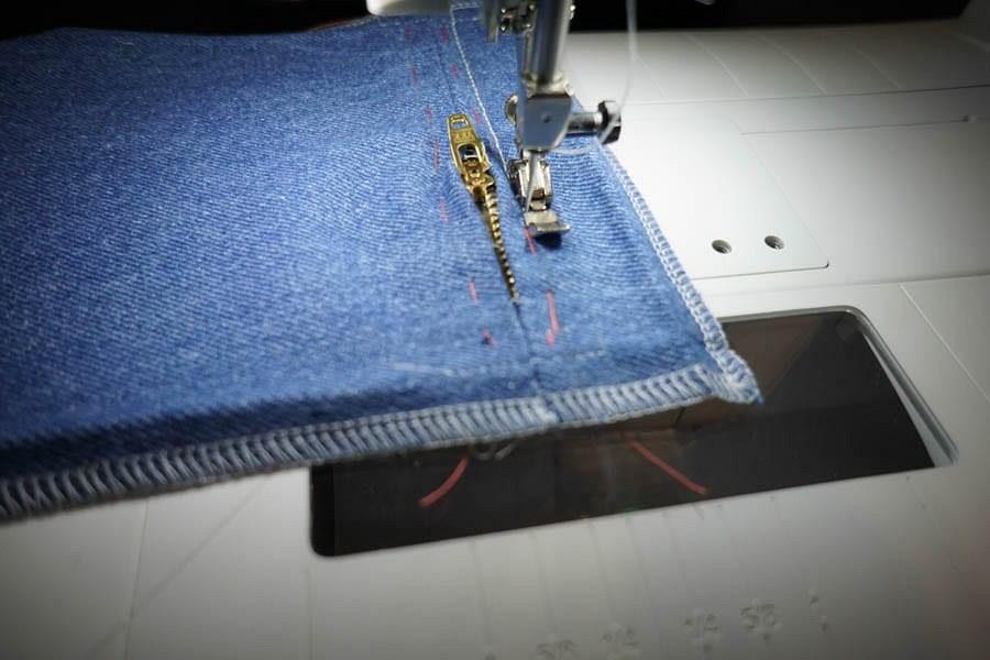Как выполнить накладной карман намолнии: мастер-класс