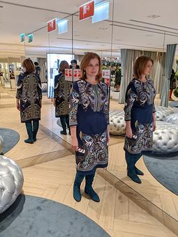 Работа с названием Новая жизнь платья