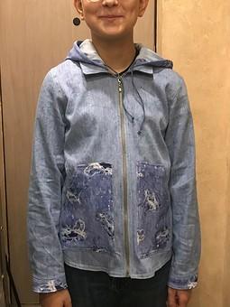 Работа с названием Рубашка-куртка