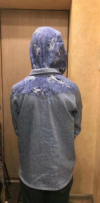 Рубашка-куртка