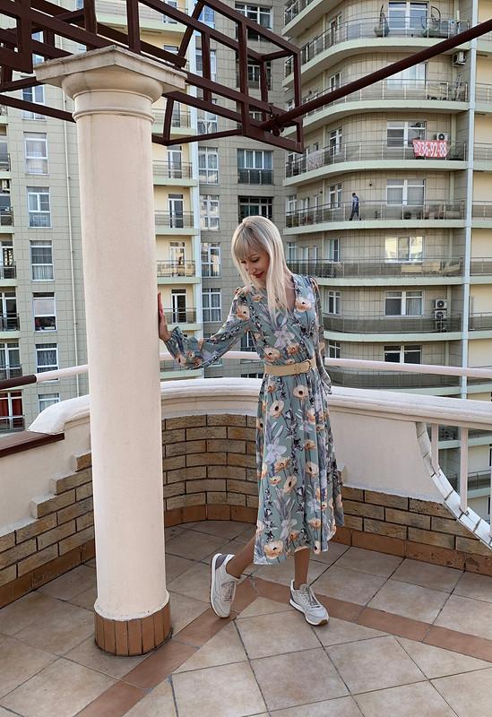 Платье изБурда 9/2020