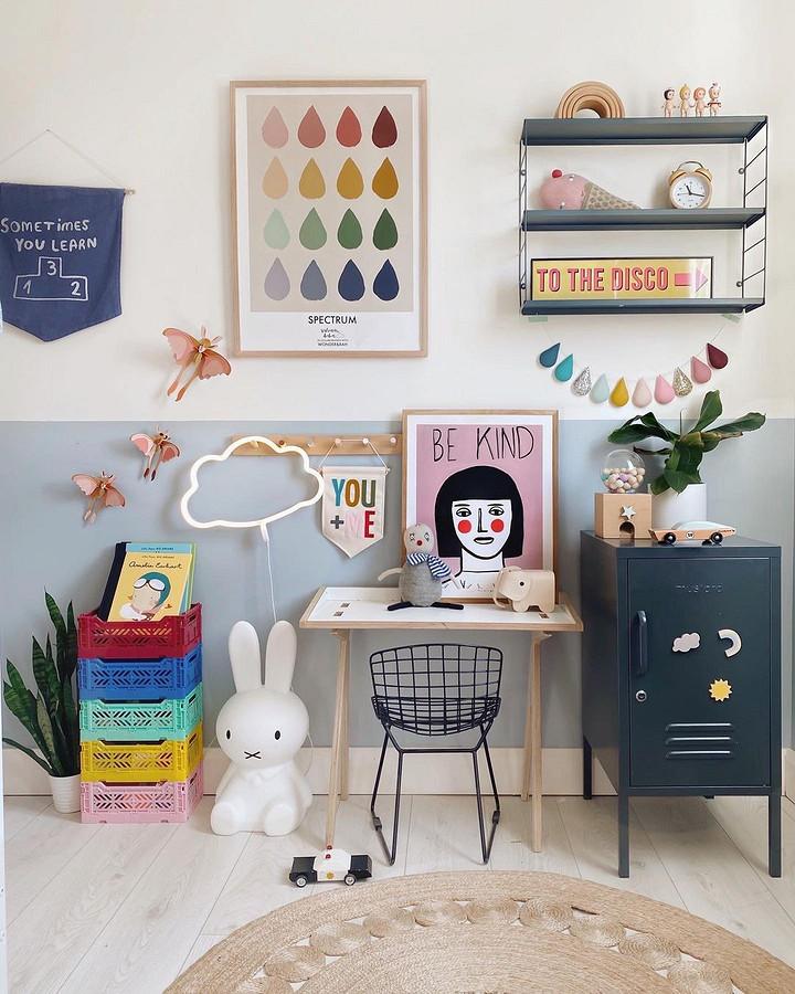 Милые гирлянды изфетра + идеи пооформлению детской: рукодельный instagram недели