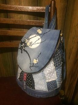 Работа с названием Японский рюкзак)