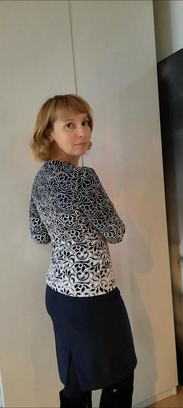 Один пуловер - два варианта