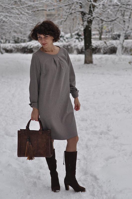 Платье. Такое простое илюбимое