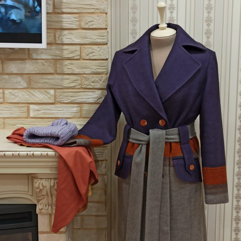 Новое Пальто «Сам себе Модельер»