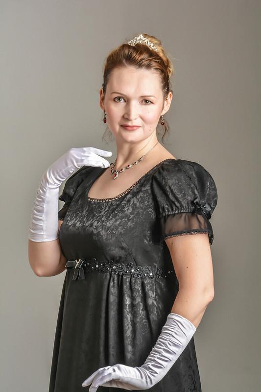 Ампирное платье