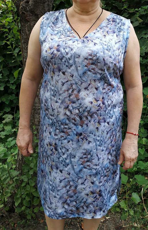 Сделали изсвободной блузы приталенное платье