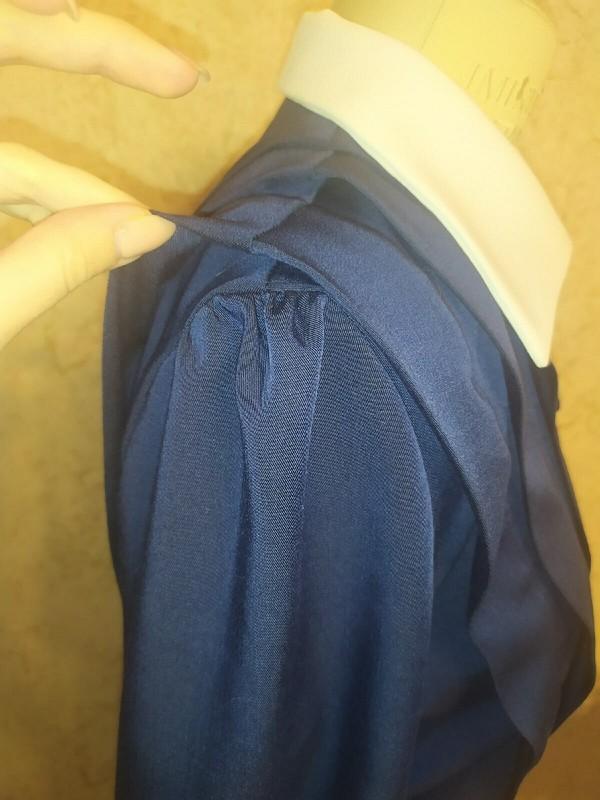 Платье «Retro blue dress»